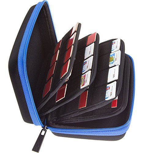 rtridge Storage Holder Hard Case for Nintendo 3DS, 2DS, DS and Nintendo Switch/PS Vita/SD Cards (48 3DS + 20 Switch or PS Vita or SD cards) ()