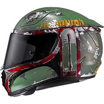 HJC Bobafett Mens RPHA 11 Pro Street Motorcycle Helmet - M4SF / Large