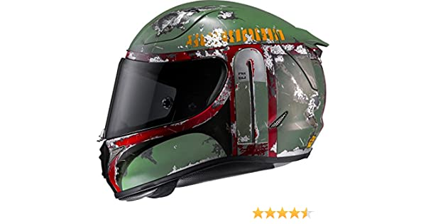 Amazon.com: HJC Bobafett Mens RPHA 11 Pro Street Motorcycle Helmet - M4SF / X-Large: Automotive