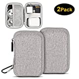 Earbuds Carrying Case, ASMOTIM EVA Hard Carrying Pouch Headphone Case Portable Earphone Case