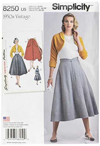 Simplicity Vintage Simplicity Pattern 8250 Misses