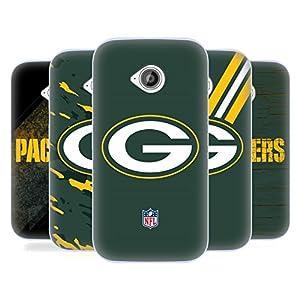 Official NFL Green Bay Packers Logo Soft Gel Case for Motorola Moto E (2nd gen)