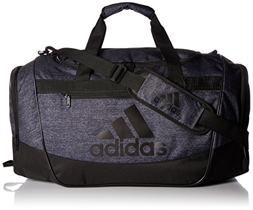 adidas Unisex Defender III Medium Duffel Black Jersey/Black One Size