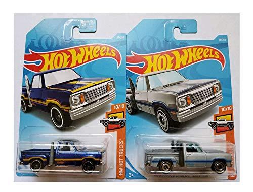 Hot Wheels 2019 Mainline Hw Hot Trucks 1978 Dodge Lil Red Express Truck Blue & Silver