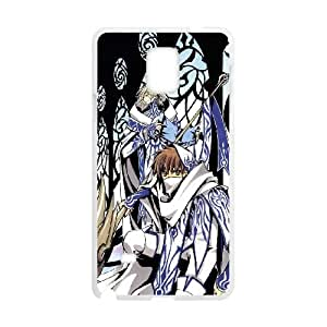 Samsung Galaxy Note 4 Cell Phone Case White Tsubasa Reservoir Chronicle SJ9455127