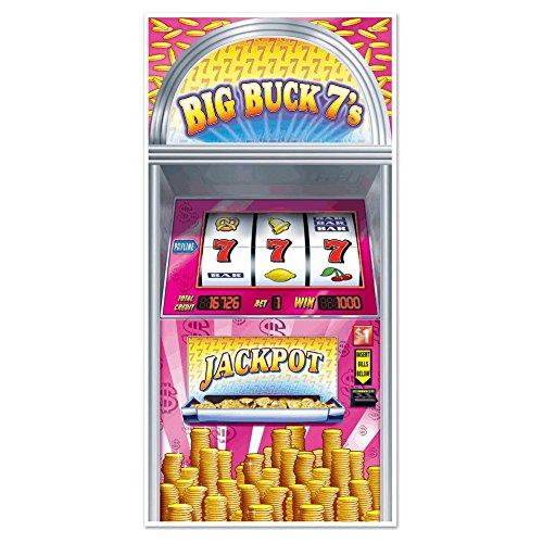 Beistle 54701 Slot Machine Door Cover, 30-Inch by 5-Feet