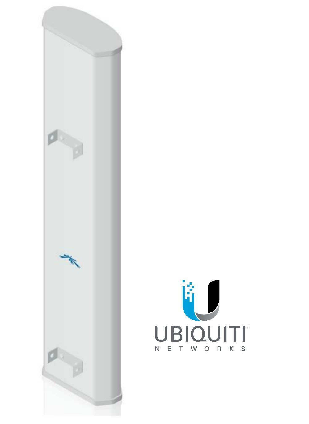 Ubiquiti Networks Airmax 900Mhz 13dBi 120 Degree 2x2 BaseStation Sector Antenna by Ubiquiti Networks