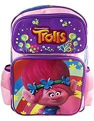Dreamworks Trolls Poppy & Friends 16 Large School Backpack for Kids