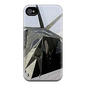 Cute Appearance Cover/tpu QuKQFET6541uexSm Lockheed F117 Nighthawk Case For Iphone 4/4s