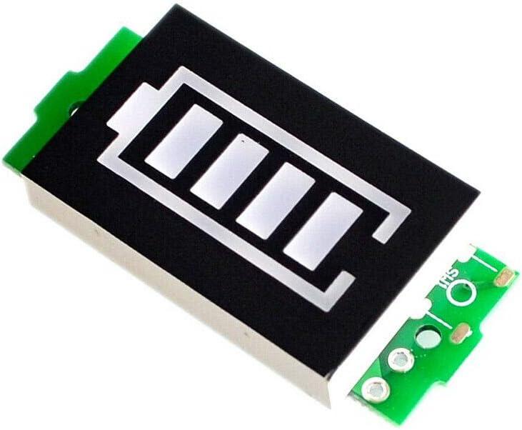 1S, 4.2V, 1Pcs SENRISE Battery Power Tester with LED Display Lithium Battery Capacity Indicator
