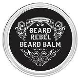 Beard Balm and Comb Set For Men, Beard Butter, Beard Wax, Best Styling Softener Growth Cream Moisturizer Lotion. Black Scented Gel For Man