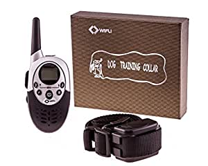 Dog Training Collar by TCBunny® / 1000ft Range / Rechargeable and Water Resistant / 8 Levels Of Shock And Vibration + 2 Sound Modes / For Medium To Large Sized Dogs / GET YOURS NOW!