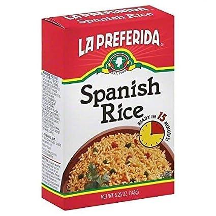 La Preferida - Cajas de arroz españolas, 13,3 ml: Amazon.com ...