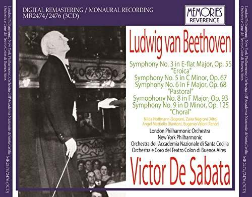 Beethoven Symphony No.3 'Eroica' (London Philharmonic/ Victor De Sabata. Studio Recording - 5 Studio London