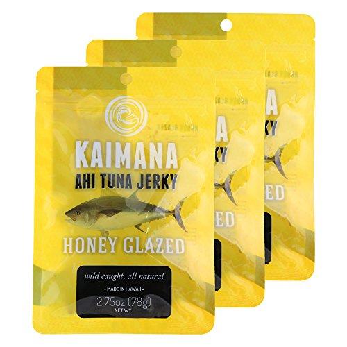 Kaimana Honey Glazed Ahi Tuna Jerky (3 Pack)