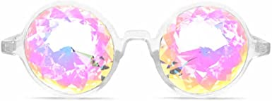Rave Rainbow EDM Diffraction GloFX Aviator Style Kaleidoscope Glasses