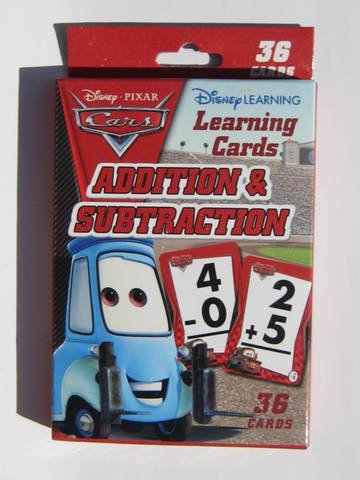Read Online Disney*Pixar Cars Addition & Subtraction Learning Cards (Disney Learning) ebook