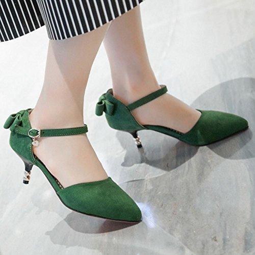 Dolce Fiocco Zanpa Green Donna da Sandali con zAwtqnwP6O