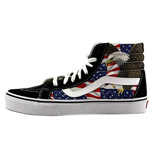VANS Sk8-Hi Reissure Special Edition Free Bird USA Sneaker V3CAIE5 Free-Bird black/True White