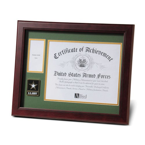 Allied Products Frame Go Army Medallion Certificate and Medal Frame, 8 by 10-Inch