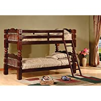 Twin over Twin Bunk Bed Finish: Esprit Cherry