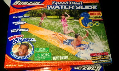 Banzai Speed Blast Water Slide