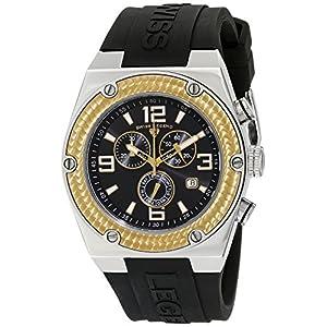 Swiss Legend Men's 30025-01-GB Throttle Chronograph Black Dial Watch