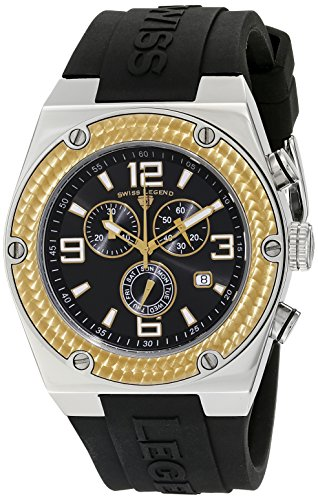 Swiss Legend Throttle (Swiss Legend Men's 30025-01-GB Throttle Chronograph Black Dial Watch)