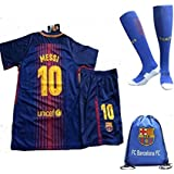 FC Barcelona 2017/18 Kid, Youth for Lionel Messi, Luis Suarez, Neymar Jr, Iniesta & the rest of club Barcelona for the New Season (Messi18, K26 (9-10 Years Old))