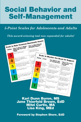 Social Behavior and Self-Management: 5-Point Scales for Adolescents and Adults (Scale Point)