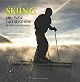 Skiing Mini Wall Calendar 2018: 16 Month Calendar