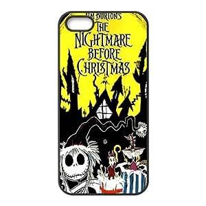 Customiz Cartoon Movie Nightmare Before Christmas Back Case for iphone 5 5S JN5S-2532