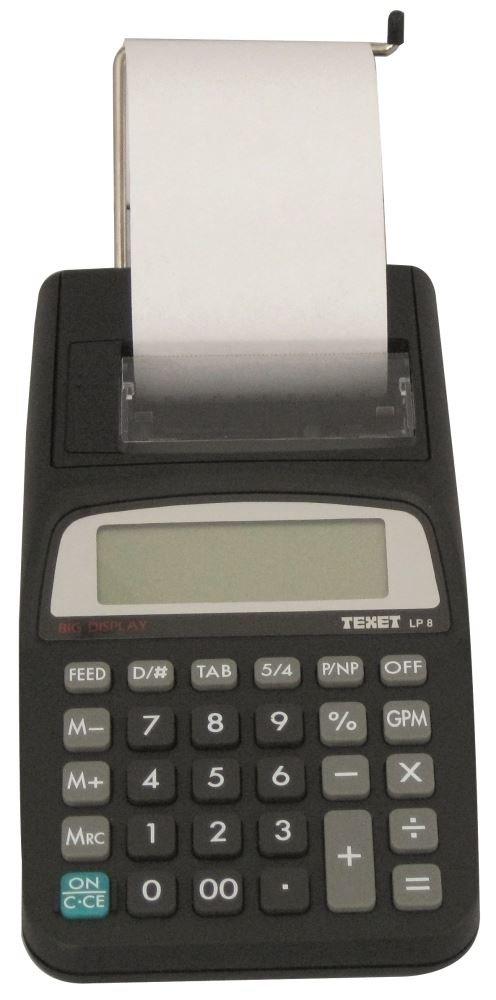 Waytex 77241 calculadora de escritorio con impresora negro: Amazon ...