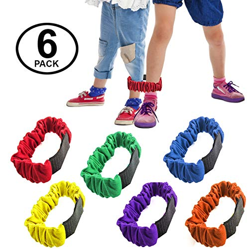 3 legged Race Bands - 6 Pack - Race Bands - Relay Race Games - Carnival Games - Birthday Games by Funny Party Hats ()
