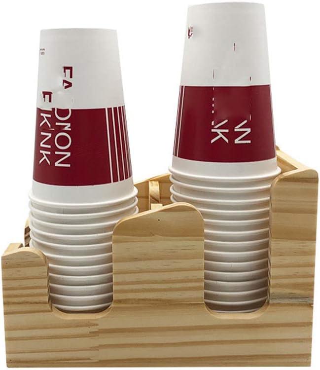 Racks & Holders Coffee Tea Shop Plastic Disposable Paper Cup