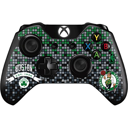 NBA Boston Celtics Xbox One Controller Skin - Boston Celtics Digi Vinyl Decal Skin For Your Xbox One Controller by Skinit