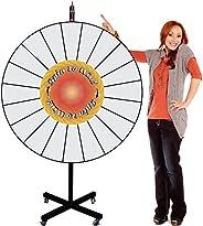 Spinning Prize Wheel - 48 Inch Big Extra Large Jumbo Size Pocket Insert Customizable