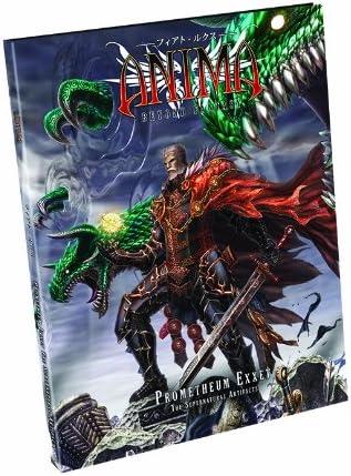 1616616822 Anima RPG: Prometheum Exxet - The Supernatural Artifacts 51GljGedU6L.