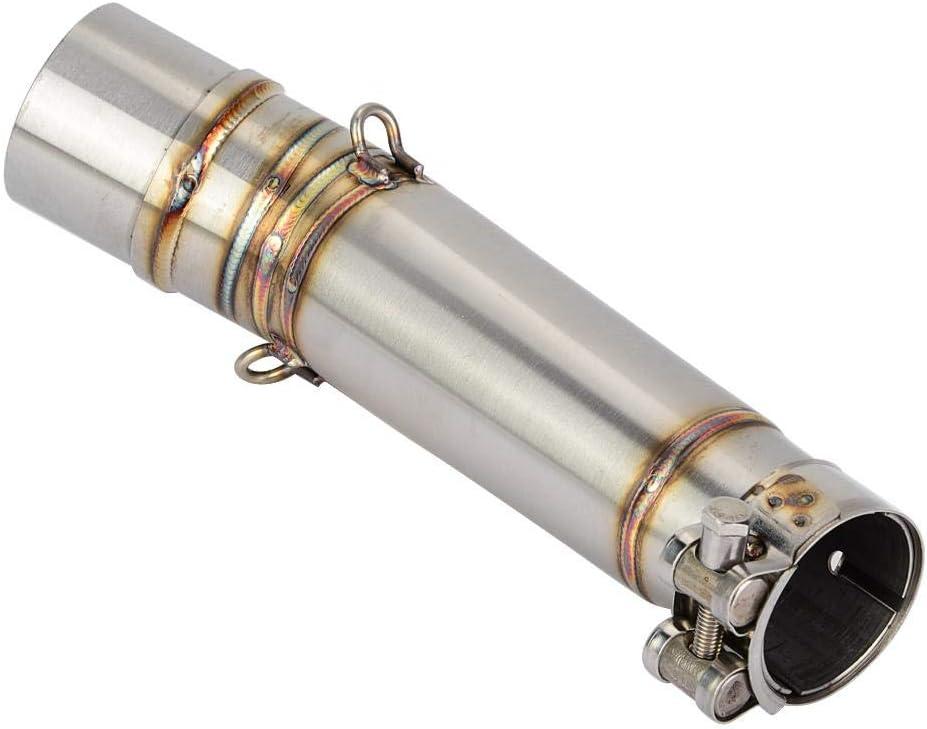 Tuyau interm/édiaire d/échappement de moto tuyau de silencieux de moto 51mm connecteur interm/édiaire pour NC700S NC700X CTX700 NC750S