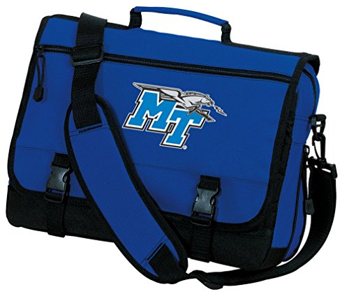 Broad Bay MT Laptop Bag OFFICIAL Middle Tennessee Messenger Bags by Broad Bay