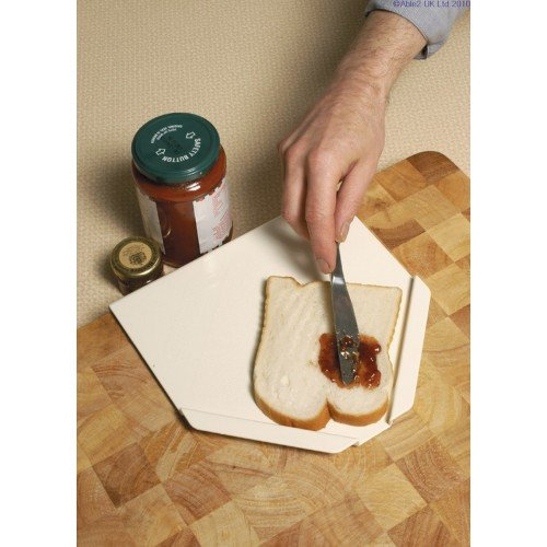 Gordon Ellis One Handed Food Preparation Board for Spreading/Buttering