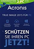 Acronis True Image 2015 für PC 2 User Limited Edition