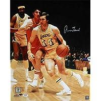 $137 » Jerry West Autographed Photo - 16x20 10119 - PSA/DNA Certified - Autographed NBA Photos