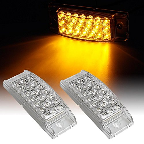 Partsam-Pair-6-Amber-Side-Front-Marker-Light-Turn-Signal-Light-High-Low-Brightness-Sealed