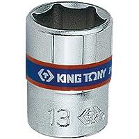 Soquete Sextavado 14mm-1/4, KingTony BR, 233514M