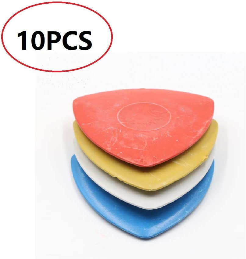 Auch 10PCS Professional Tailors Chalk Triangle Tailors Chalk Markers Sewing Fabric Chalk