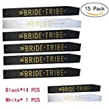 15 Pcs Bride Tribe Sashes Hen Party Sashes Bachelorette Decoration Team Bride and Girls Ladies Night Out Party Favors Accessories (15 Pcs)