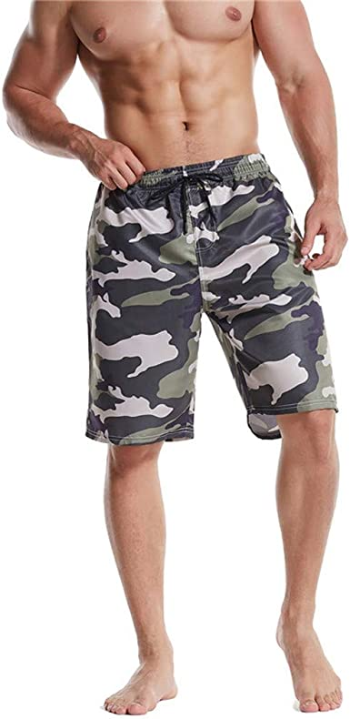 DIOMOR Mens 3 Inseam Bodybuilding Shorts Tights One Pockets Gym Workout Fitness Shorts Solid Color Beach Trunks