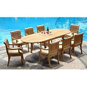 51GlnrAc3oL._SS300_ Teak Dining Tables & Teak Dining Sets