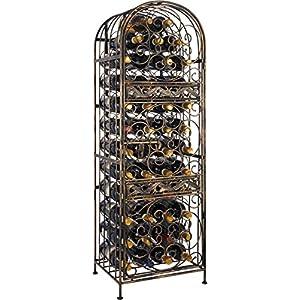Wine Enthusiast Renaissance Wrought Iron Wine Jail